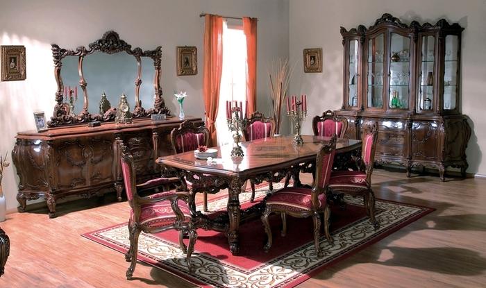 Simex, Simleu Silvaniei -   Dining room luxury furniture - Cleopatra