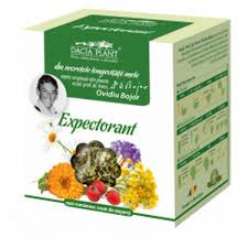 Mixed tea: Expectorant