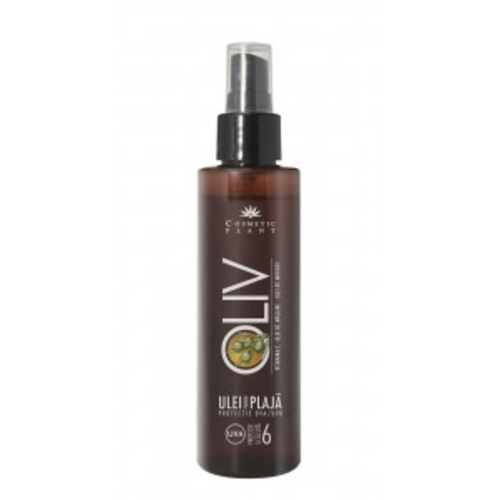 OLIV beach oil SPF 6 with carrot oil , olive oil and vitamin E
