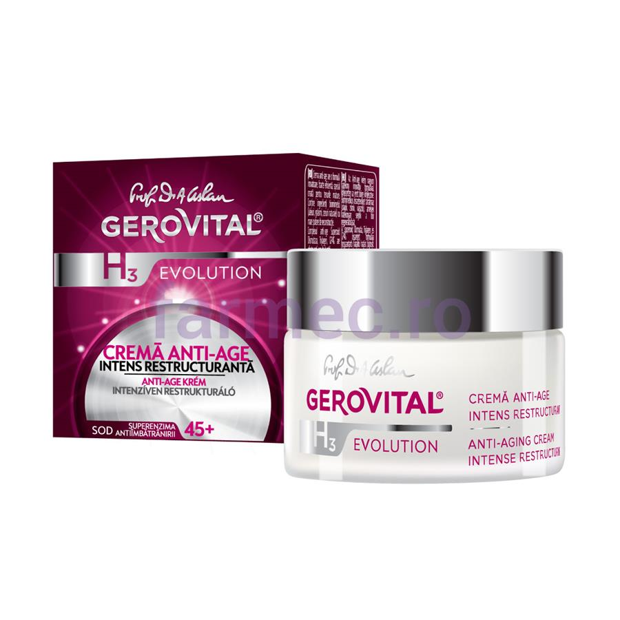 Gerovital H3 Evolution, Anti-ageing Cream